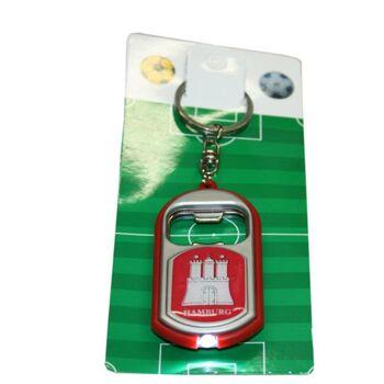 Schlüsselanhänger mit LED Lampe und Flaschenöffner