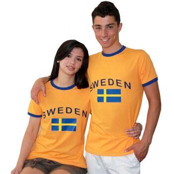 Soccer Fan T-Shirt für Damen und Herren