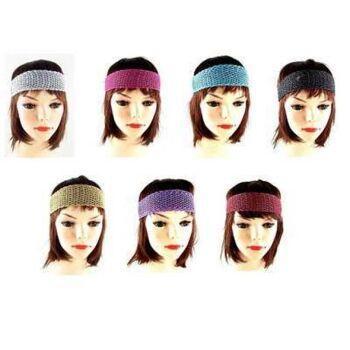 Haarnetz Haarreif mit elastischem Gummiverschluss Haarband