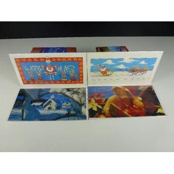 Weihnachts Puzzle Geschenkkarten, statt 2,95, Markenware