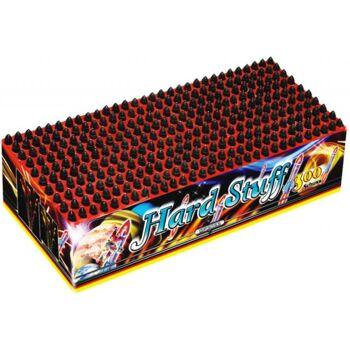 Hard Stuff 300-Schuss Pfeif-Batterie f Silvester Party Feuerwerk