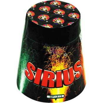 Sirius Multi-Effekt-Fontänenbatterie Feuerwerk f Silvester Party
