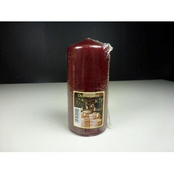 GALA Stumpenkerze 150x70mm, bordeaux, Premium Stumpen