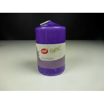 YUL Duft Stumpenkerze 100x60mm, Lavender