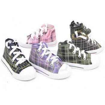 36 Paar Kinder Jungen Mädchen Sneaker Sport Schuhe Shoes nur 3,49 Euro