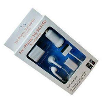 5 in 1 Ladeadapter Set für iPhone 4G/ 4S/ 3G / iPod ect. Apple Endgeräte