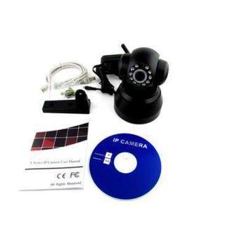 Internet WLAN-IP-PAN-TILT IR CAM Kamera Überwachungskamera