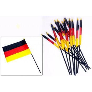27-11319, Deutschlandfahne 21 x 15 cm am Stab