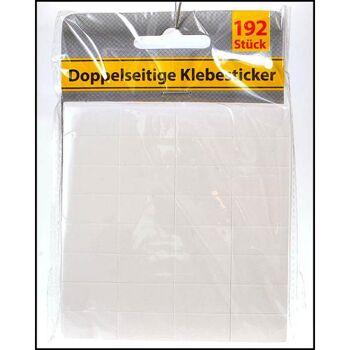 28-022127, Klebesticker doppelseitig, 192er Pack
