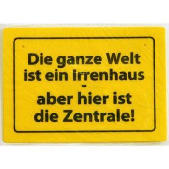 28-016355, Schild mit Sprüchen, 15 x 10 cm, witzig, cool