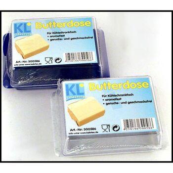 28-300586, Butterdose mit Deckel, Unterteil farbig