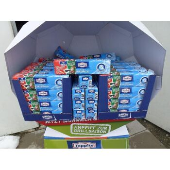 64 x Toppits Eiskugelbeutel im großem GRATIS Verkaufsdisplay