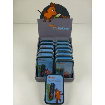 12-117372, Die Maus Trostpflaster 30er Pack in Metallbox, Serie Die Maus, bekannt aus TV