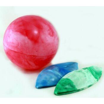 06-0740, XL Spielball 30cm, marmoriert, Wasserball, Strandball, Beachball, Fussball