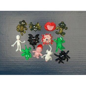 Sticky Schleimfiguren, Klatschfiguren, bleiben hängen, Partyknaller