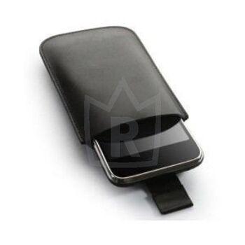 Kunstleder Schutzhülle schwarz Iphone 3 4
