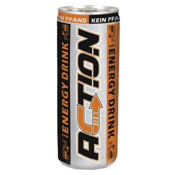 ACTION Energy Drink 250ml pfandfrei