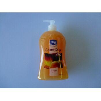 12-40076, Cremeseife 500ml, Pfirsich, Flasche mit Spender