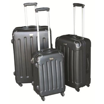 3-tlg. Reisekofferset Kofferset Trolley Reisekoffer Koffer Hartschale 4 Farben