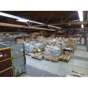 Restposten Paletten 1.200 Teile mit Markenwaren, NEUWAREN