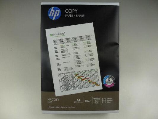 12-5002393, ORIGINAL HP Kopierpapier/Multif. A4  500 Blatt,  80gr weiss