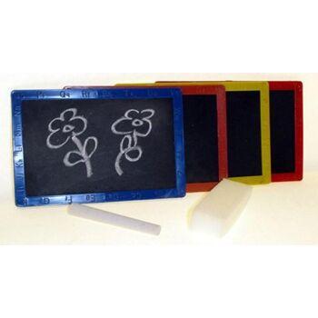 Schreibtafel Set, Tafel, Kreide & Schwamm, Tafelset, Schulbedarf