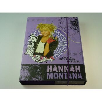 Hannah Montana stabile Heftbox A4, Rücken 4 cm