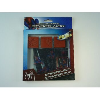 Spiderman Stempelbox 23-teilig