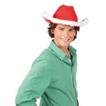 27-15383, Weihnachtshut Merry Texas, Karneval, Fasching, Party usw.