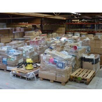 Power POSTEN Palette, 500-600 Teile, mit Markenwaren, ALLES NEUWAREN