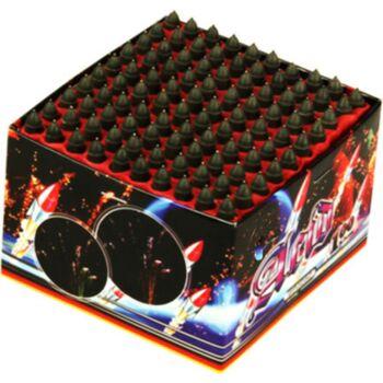 Acid 100 Schuss Pfeiff Feuerwerk Batterie Silvester
