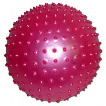 Noppenball 20 cm, mit Pumpe, Igelball, Massageball, Wasserball, Strandball, Beachball