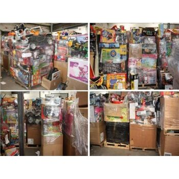 Posten Angebot  Mix  Spielzeug Spielwaren Paletten viele Marken Waren Retouren garantiert ungeprüft vom Discounter