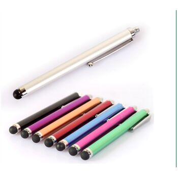 Edle 360° Kunstleder Tasche weiß für iPad Air 5 inkl. Display-Schutzfolie + Touch-Pen Ledertasche Cover Case Hülle