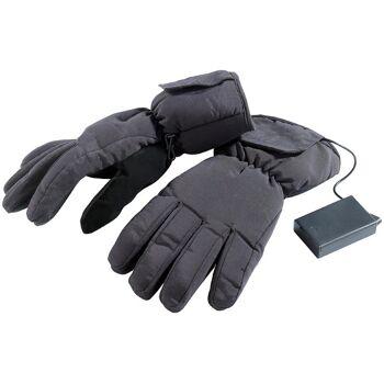 Elektrisch beheizte Handschuhe batteriebetrieben Gr. M / 7,5