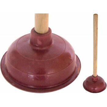 12-106293, Saugglocke mit Holzstiel 40cm, Abfluss Reiniger, Pümpel, Pömpel