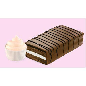 Minikuchen und Kekse cremegefüllt