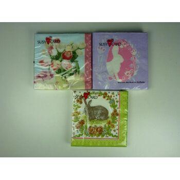 SUSY Card Servietten 20er Pack, Ostern, Frühjahr