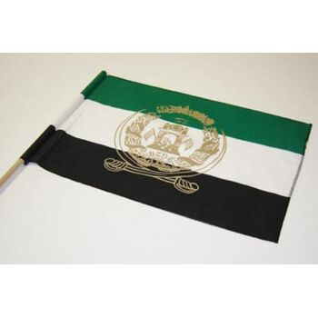 Flagge Stockfahne Länderfahne Baumwoll-Fahne Afghanistan