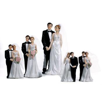 17-26705, Brautpaar, stehend, 20,5 cm
