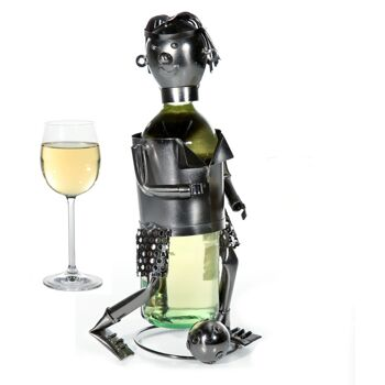 17-26482, Metall Weinflaschenhalter