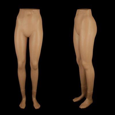 Torso Büste Puppe Frau Schaufensterfigur Beine NEU PVC