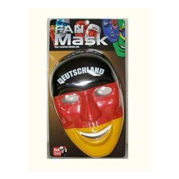 23-59844, Fan Maske Deutschland, Fussball Fanartikel Party, Event, Stadion Publicviewing Fanmile, usw