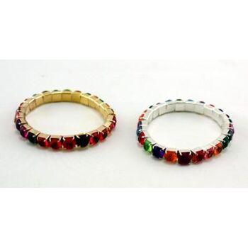 27-41043, Mode Armband mit Glitzersteinen, Modeschmuck