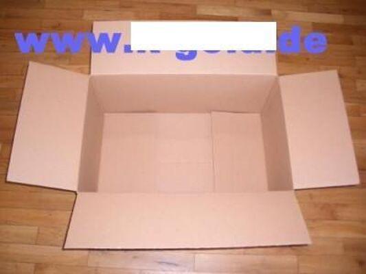 Versandkarton 1-wellig Innenmaße LxBxH 606x384x266mm