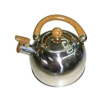 Posten Wasserkocher Teekocher 2,5 Liter Griff Holzoptik RL-KT02