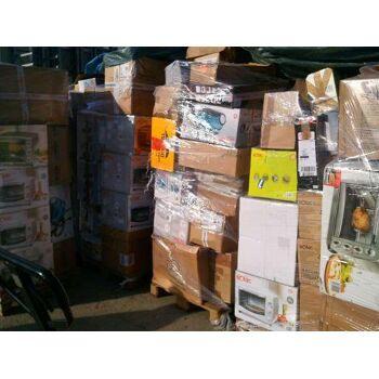 Restposten Sonderposten ABC Mix-Paletten Retoure super Ware Haushaltsgeräte