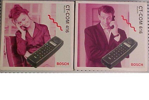 Zusatzhörer für BOSCH-Telefone CT-COM 416 und 616