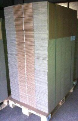 Versandkarton 2-wellig Innenmaße LxBxH 600x430x330mm
