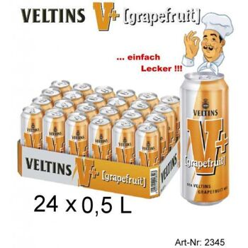 VELTINS + Grapefruit 500 ml  2,5% Alkohol